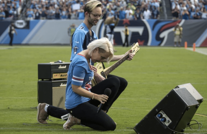Meghan Linsey Opens Up About Her Decision to Take a Knee