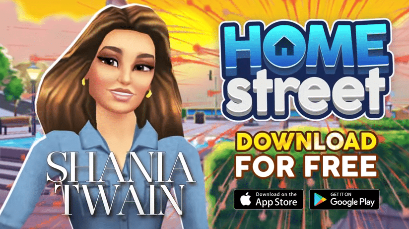 Shania Twain partners with mobile game for in-game album promotion