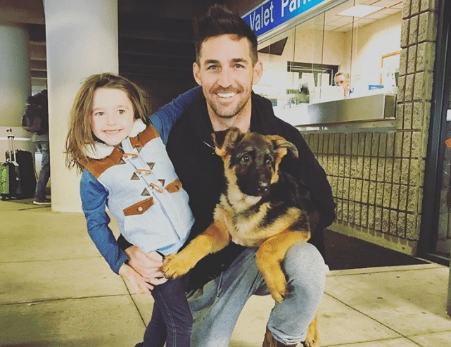 Jake Owen, Pearl, and sweet little Axel