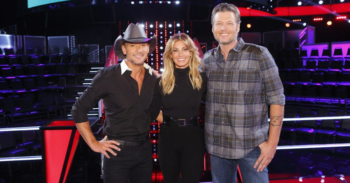 Tim McGraw honors Sexiest Man Alive Blake Shelton in the best possible way