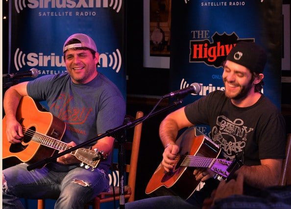 Thomas Rhett and Rhett Akins Perform a Special Song
