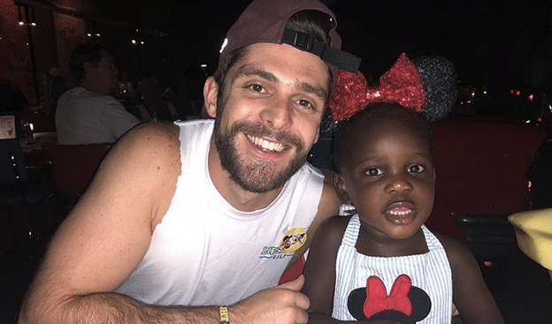 Thomas Rhett Shares Disney Photos…And We Can't Stop Squealing