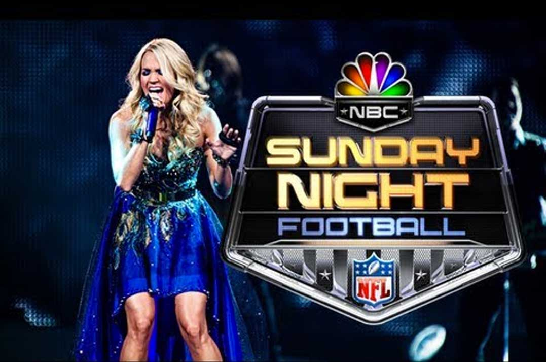 Carrie Underwood sued over Sunday Night Football song
