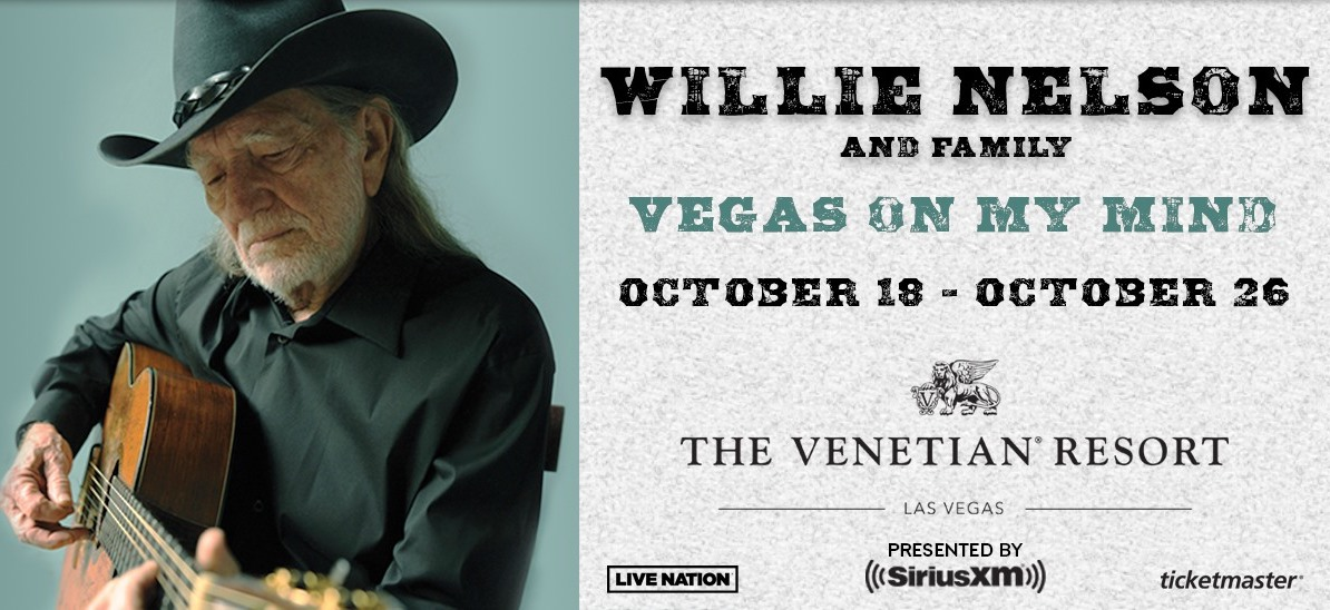 Read more about the article Not ready to settle down, Willie Nelson has a new Vegas residency planned this fall