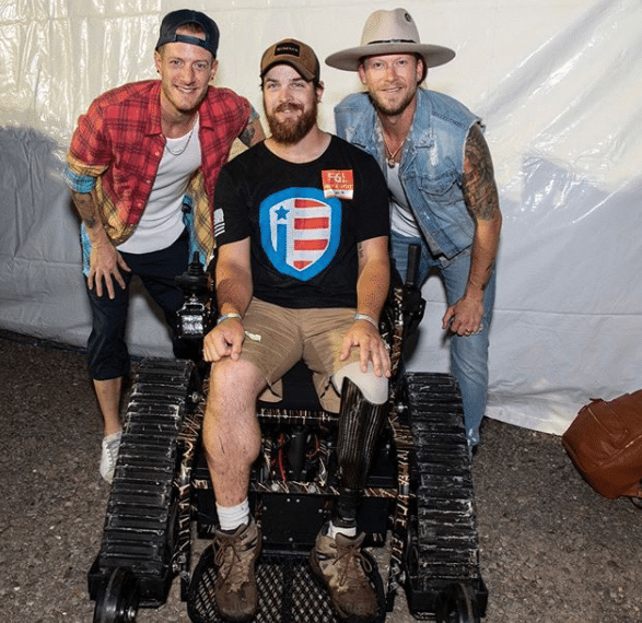 Florida Georgia Line hands out badass wheelchairs to badass veterans