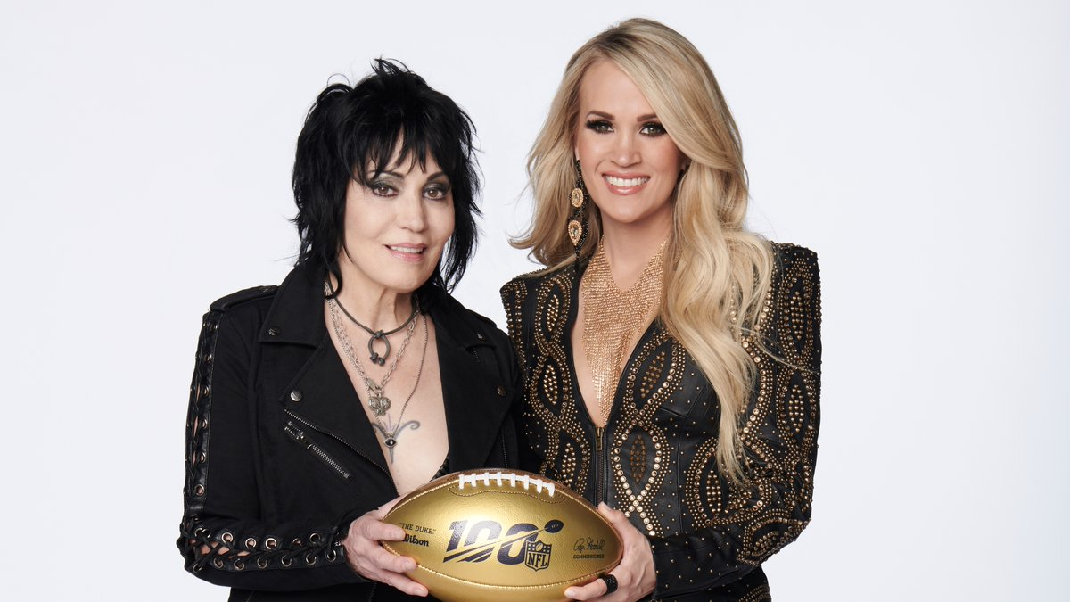 Carrie Underwood to be joined by Joan Jett for new Sunday Night Football theme song