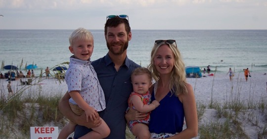 Songwriter Emily Shackelton's husband, Caleb James, in skydiving accident