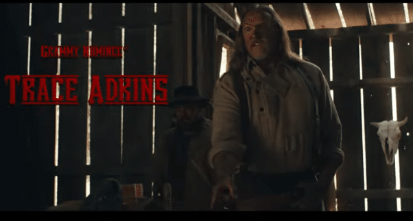 Trace Adkins stars in new movie Badland, out this November