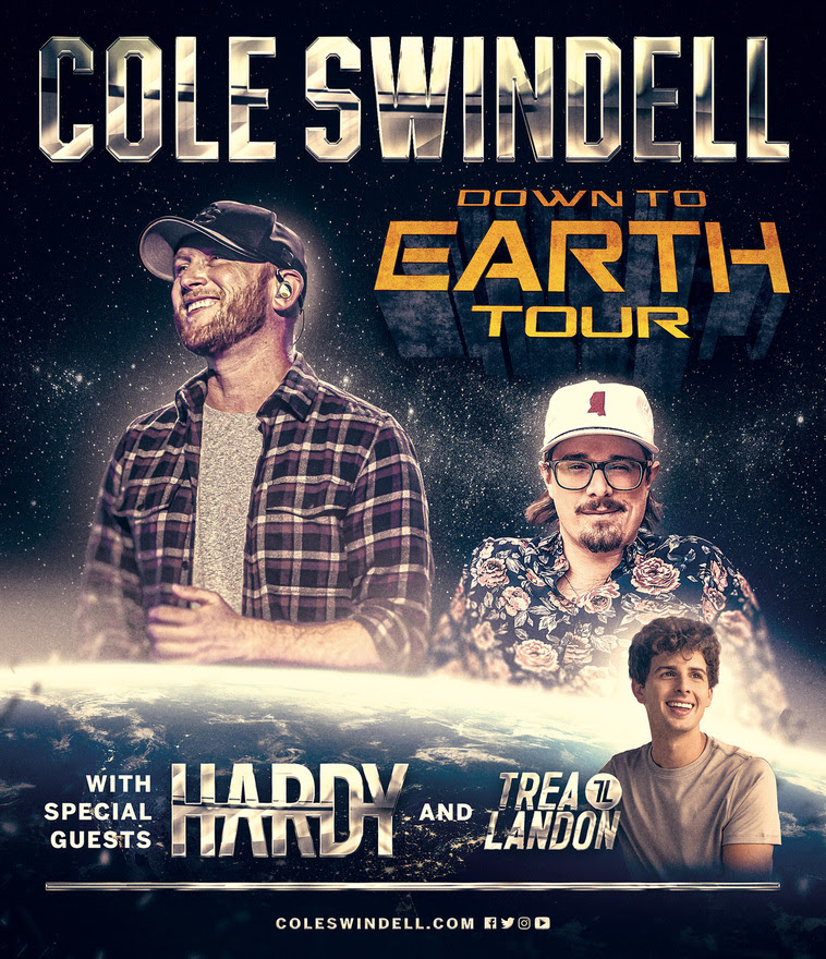 Read more about the article Cole Swindell comes Down to Earth in newly announced tour