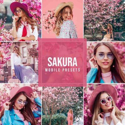 New Sakura Mobile Presets Makes Your Photos POP