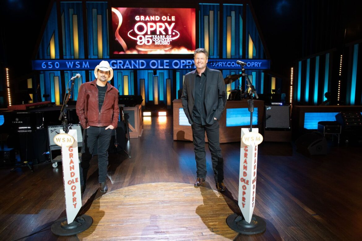 Brad Paisley and Blake Shelton are ready to teach you about the Grand Ole Opry