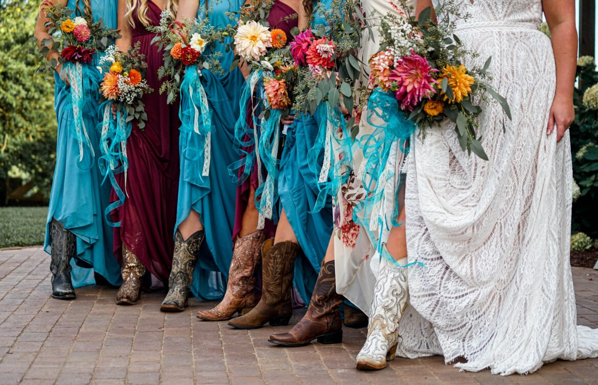 Celebrating A Country-Style Wedding With All The Trimmings