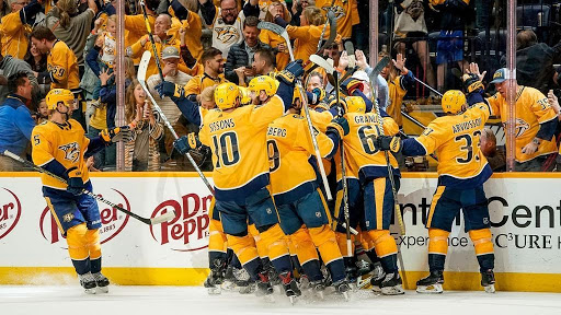 Read more about the article Country Music Stars Embrace NHL's Nashville Predators