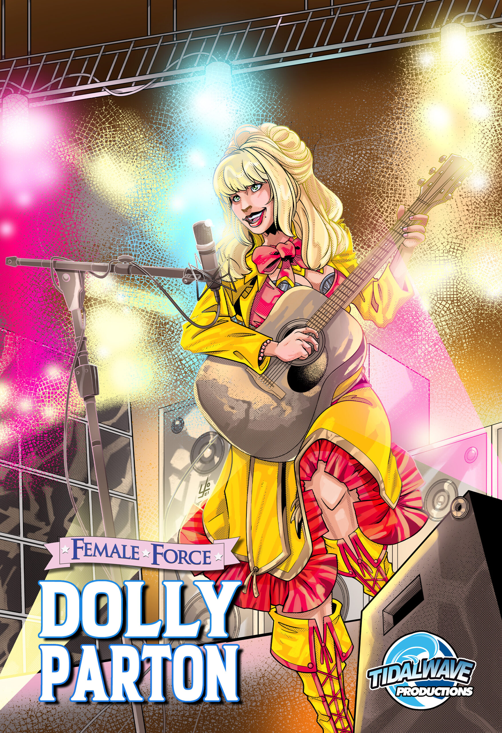 Dolly Parton gets the comic book treatment