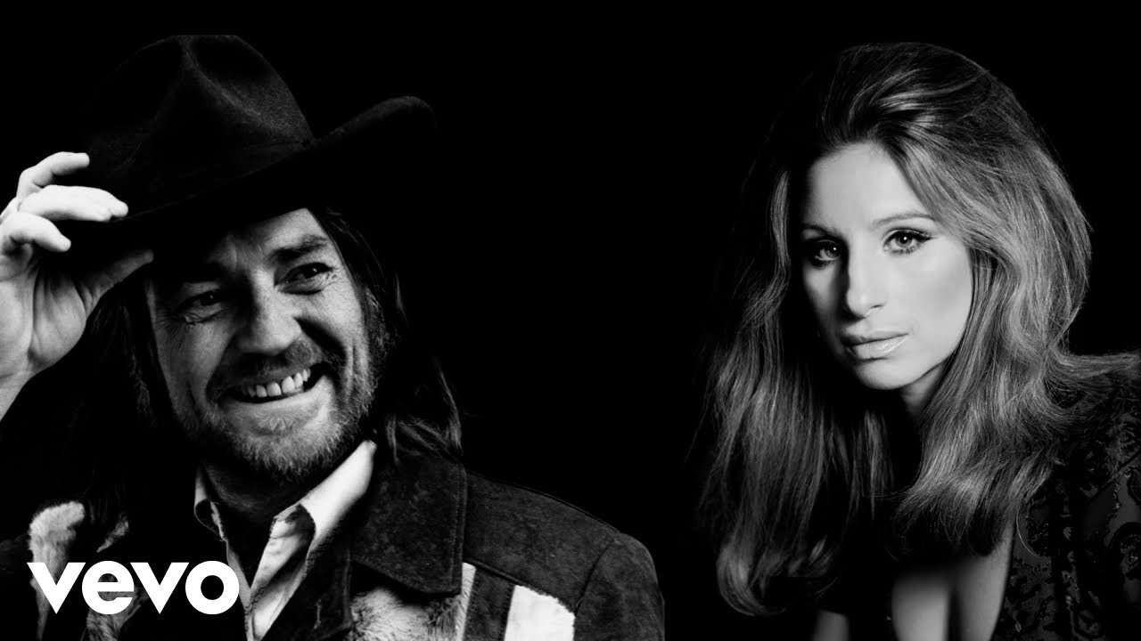 """Barbara Streisand releases """"I'd want it to be you"""" duet with Willie Nelson"""