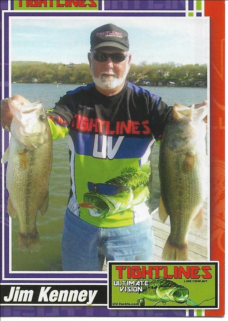 Jim's tightline trading card