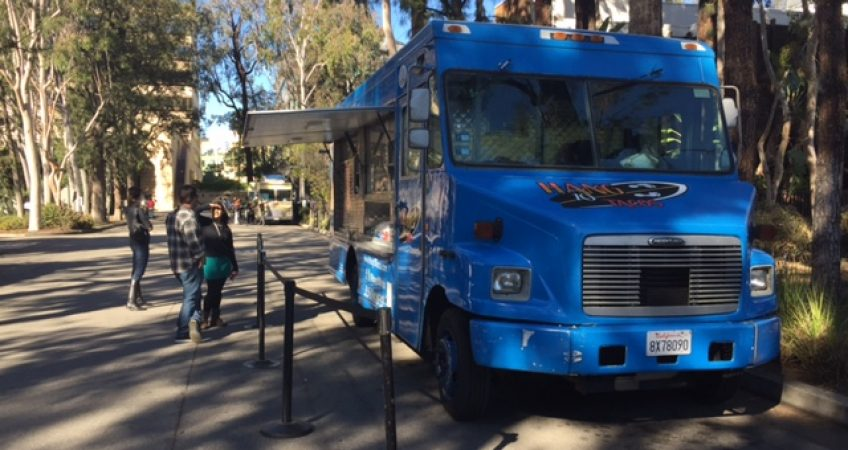 Food Truck Catering Wedding Party