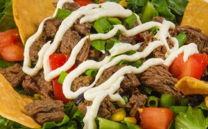 Hang 10 Tacos Steak Salad