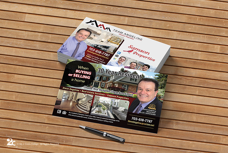 Realtor EDDM Postcard Design