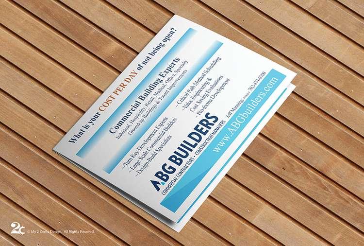 Builders Construction EDDM Postcard Design