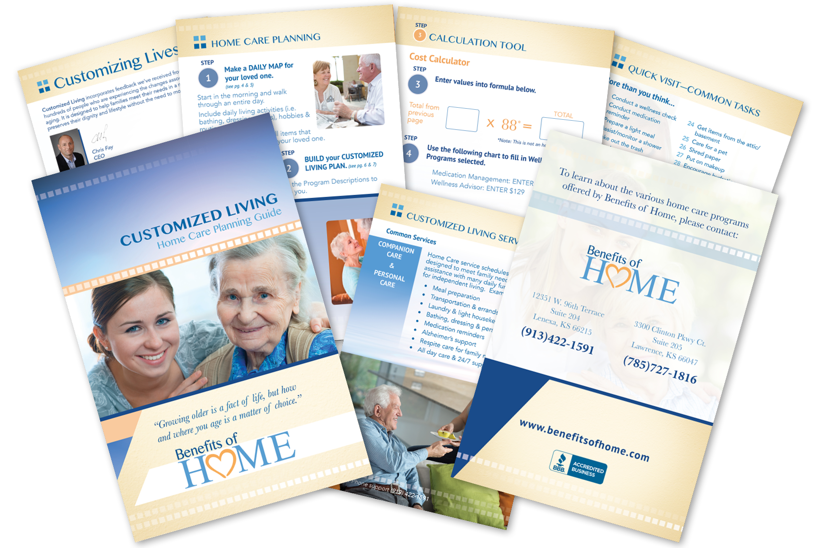 Wellness Program Booklet Brochure