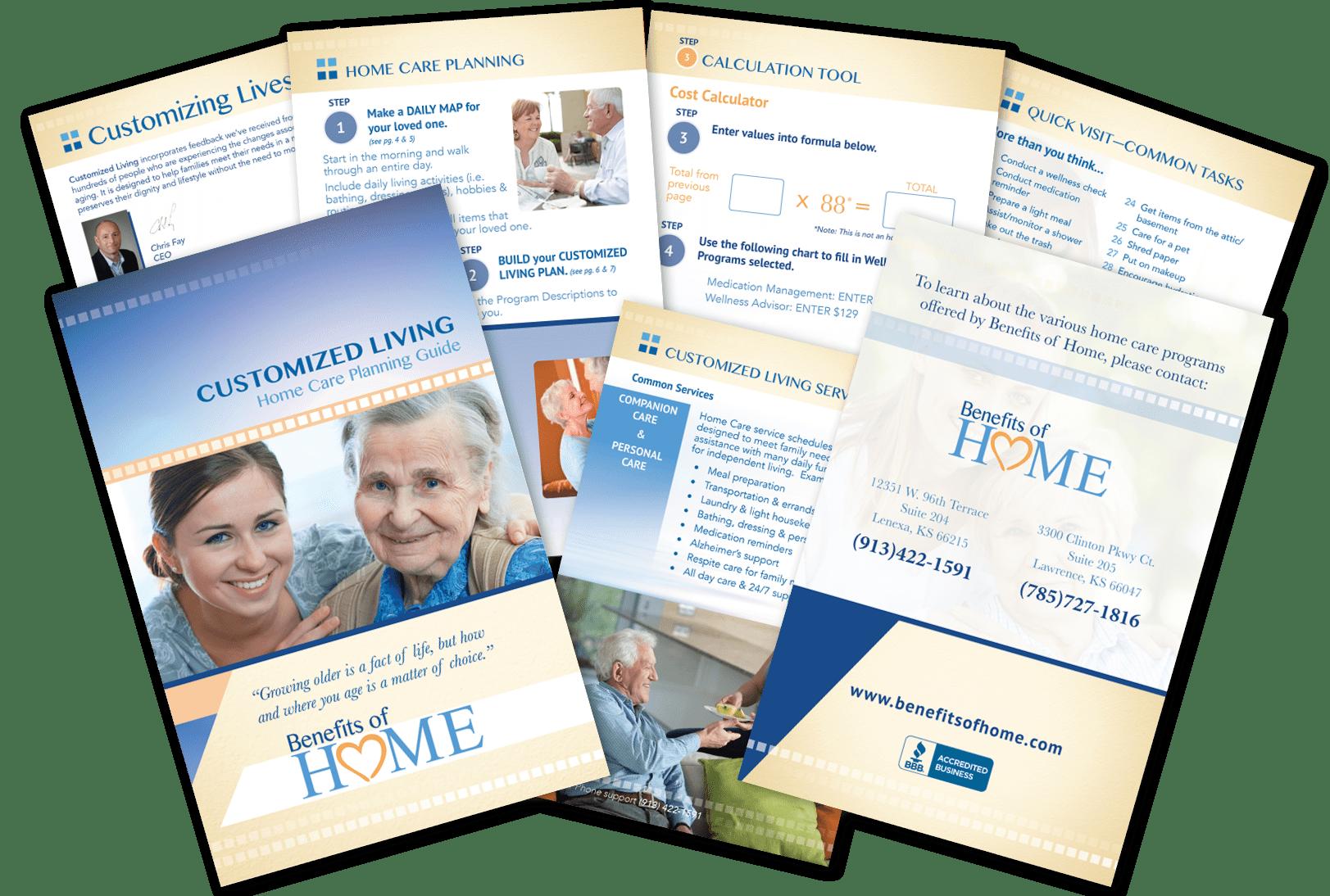 Wellness Program Booklet Brochure