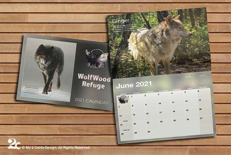 Animal Refuge Calendar Design