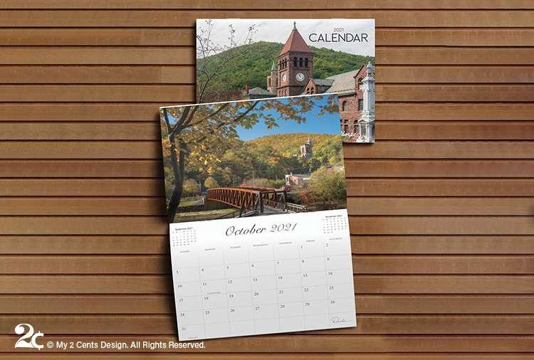 Photography Showcase Calendar Design 1