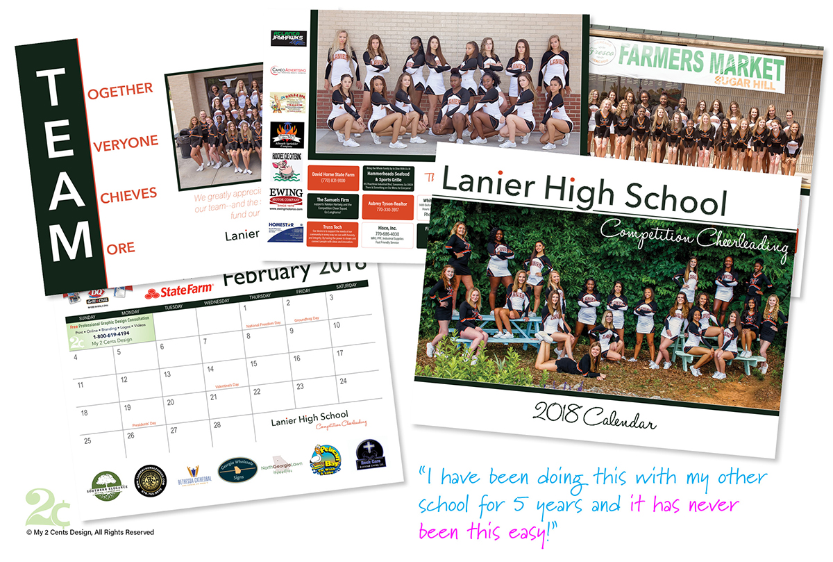High-School-Competition-Cheerleading-Calendar-Graphic-Design-Example