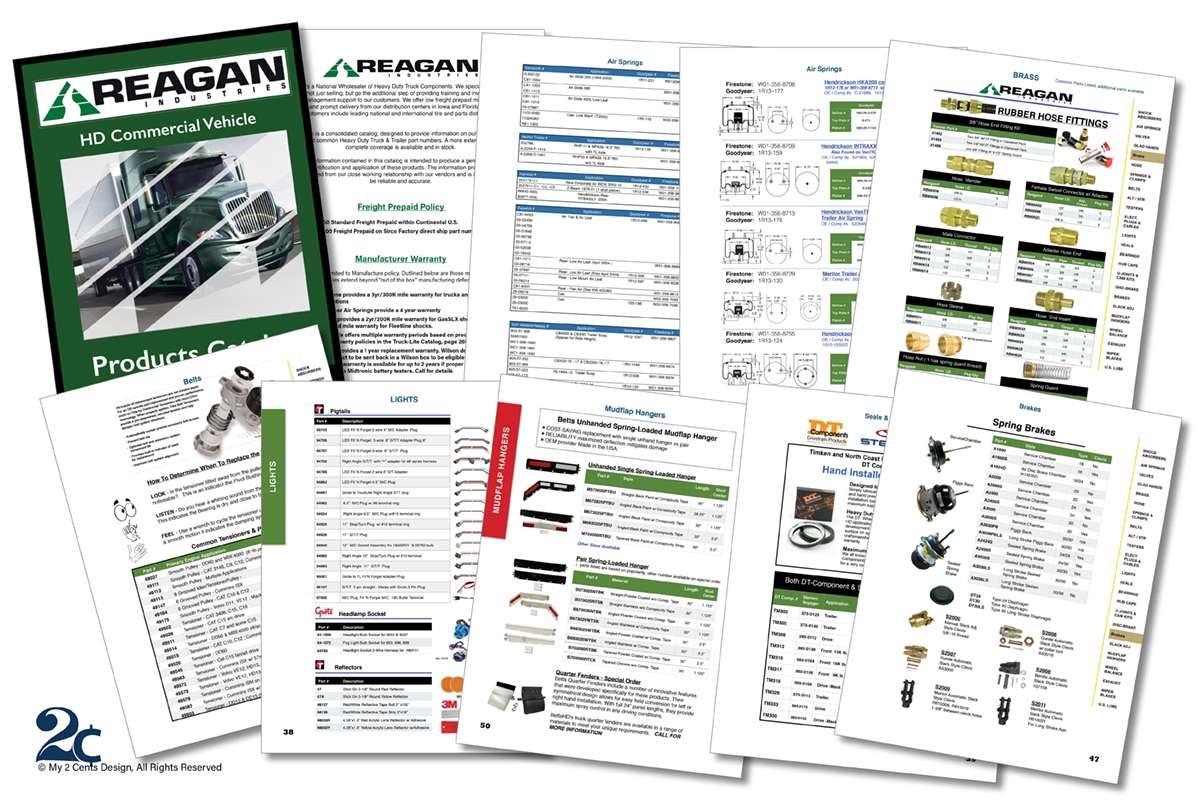 Auto Parts Catalog Design - My 2 Cents Design