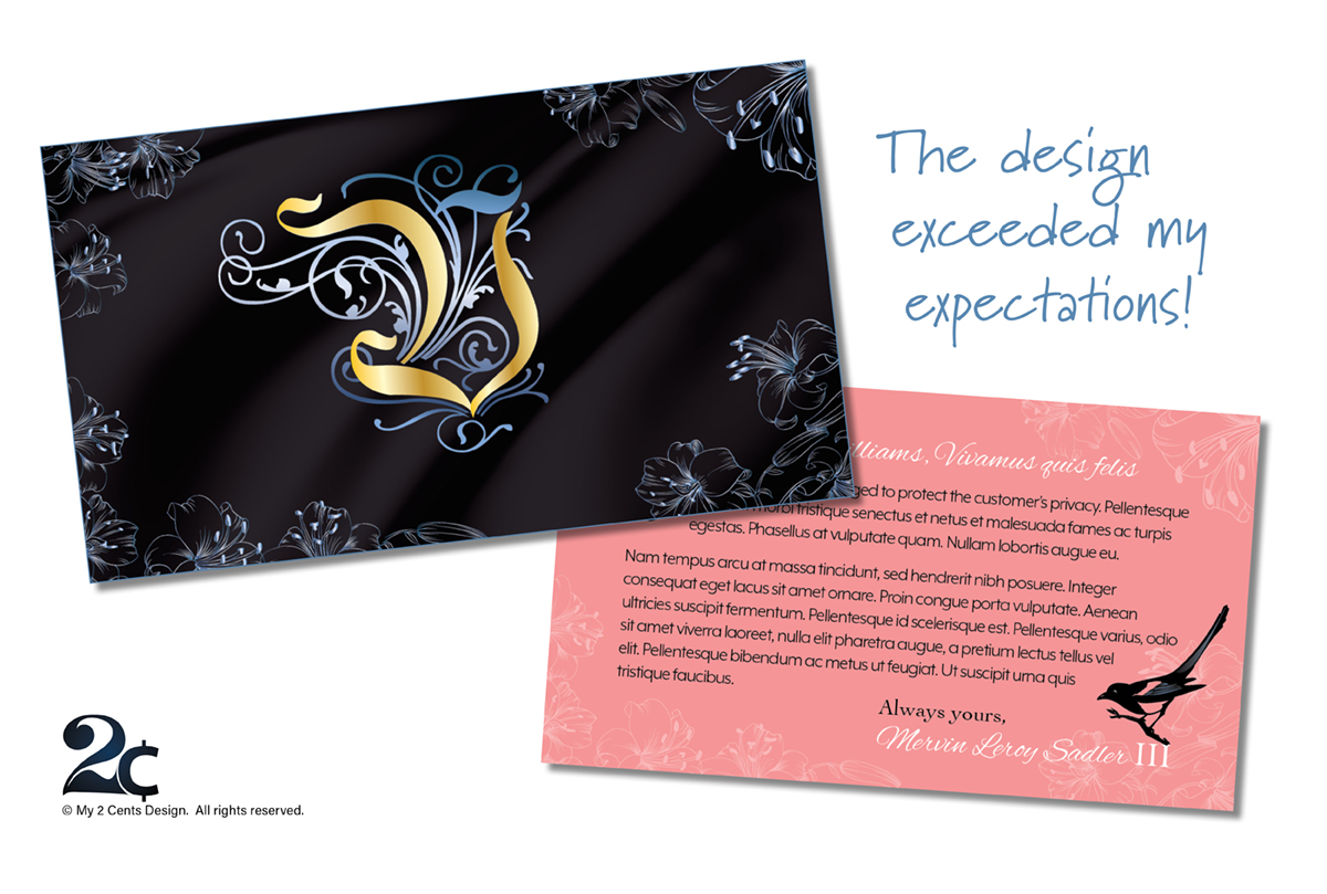 Personalized Memento Card for Gift