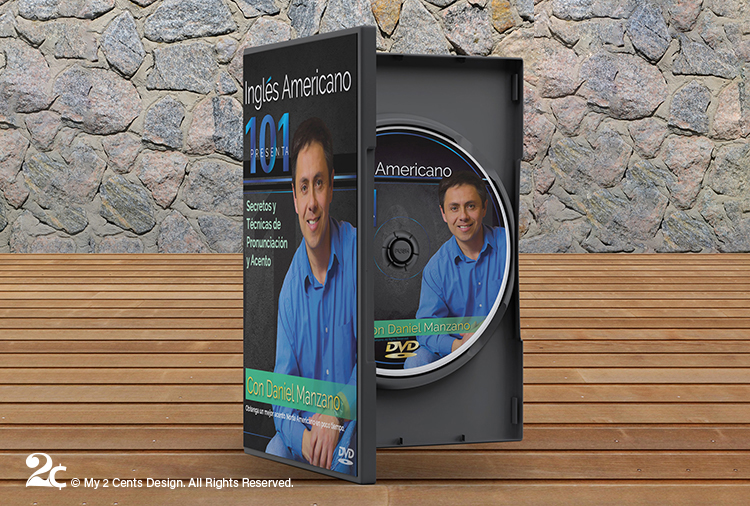ESL Language Tutorial DVD Cover DVD Case Design