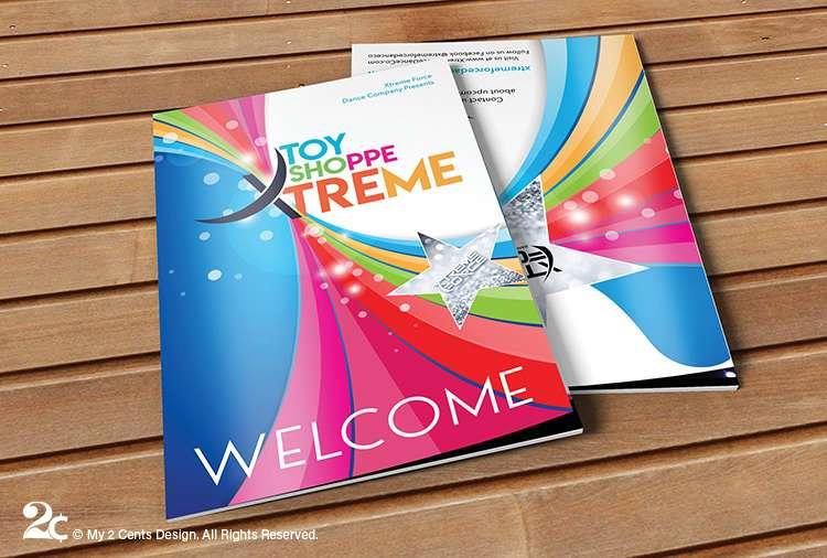 Dance Recital Program Booklet Design 1