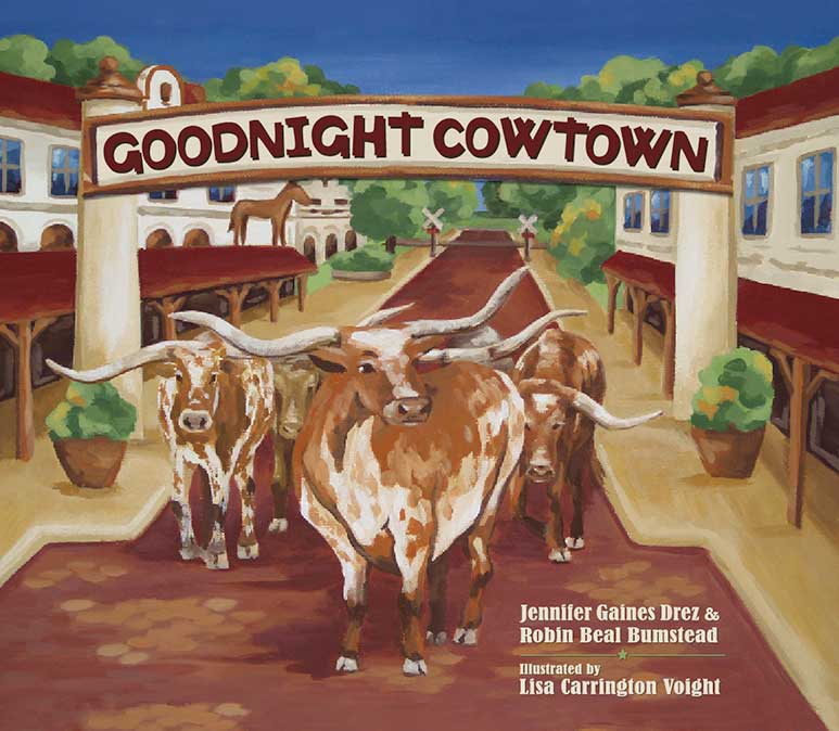Goodnight Cowtown Book Cover