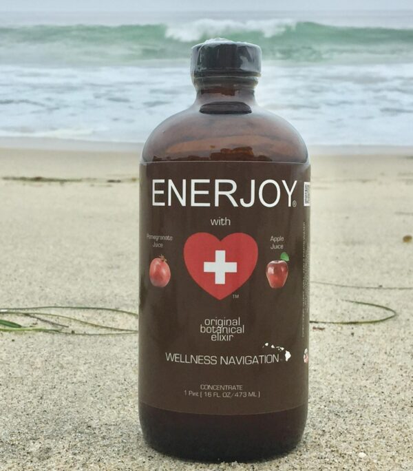 ENERJOY with Pomegranate and Apple Juice - 1 Bottle