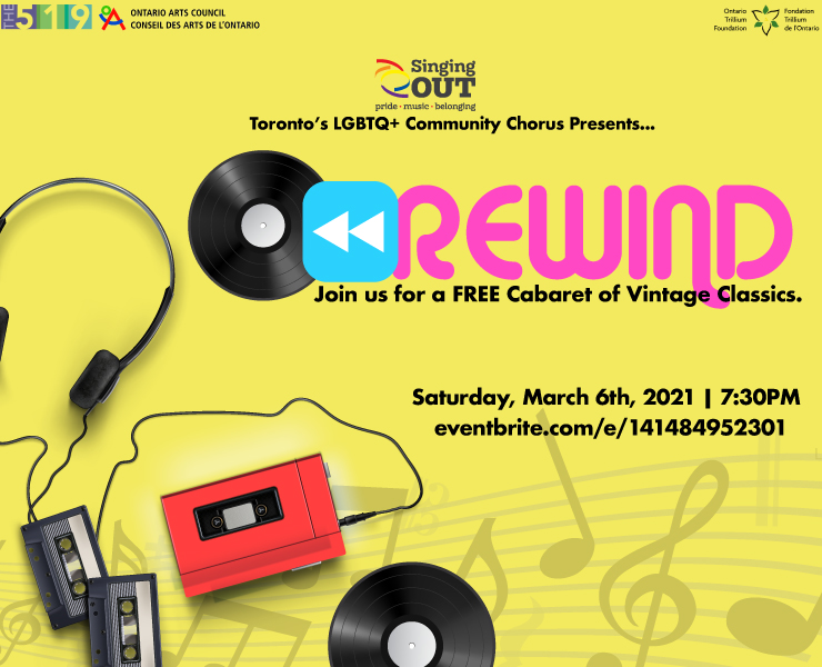 Rewind: A Singing Out Cabaret