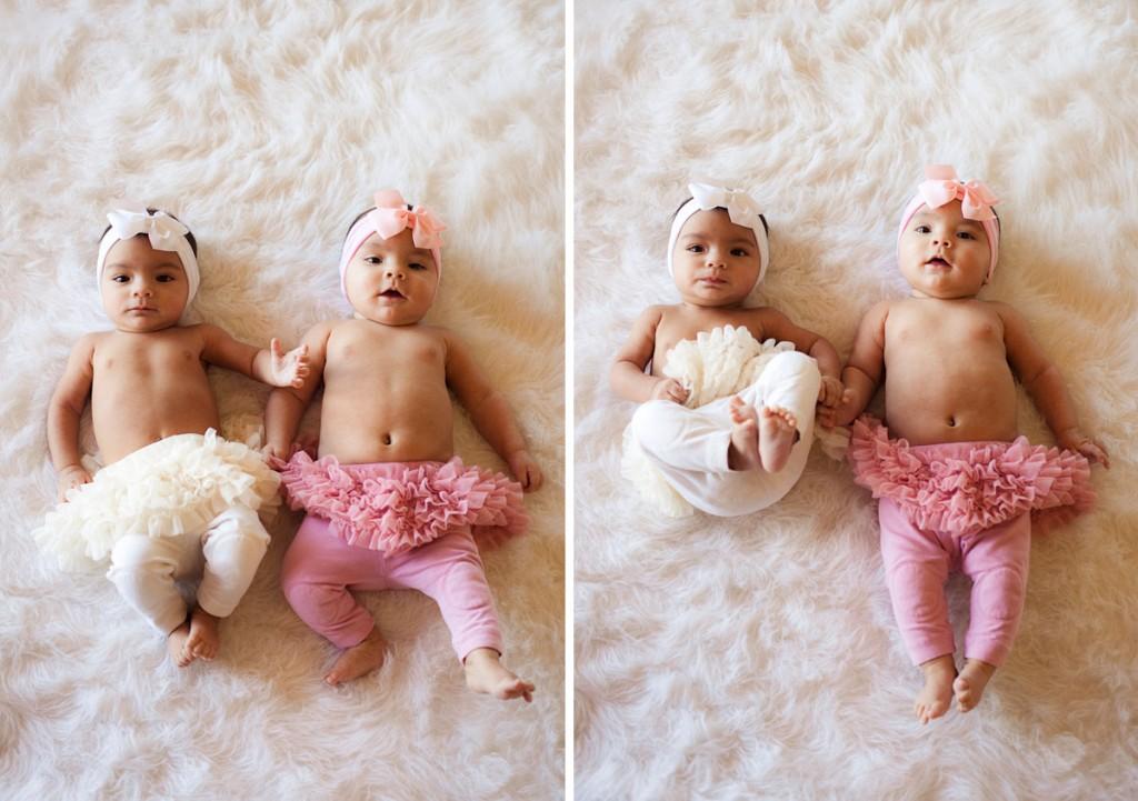 family portrait shoot twins
