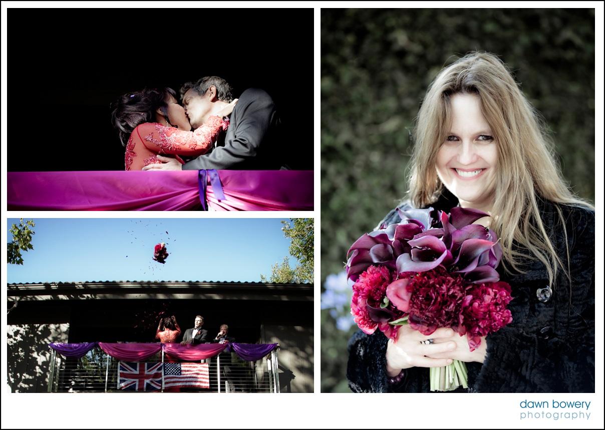 los angeles wedding photographer kiss