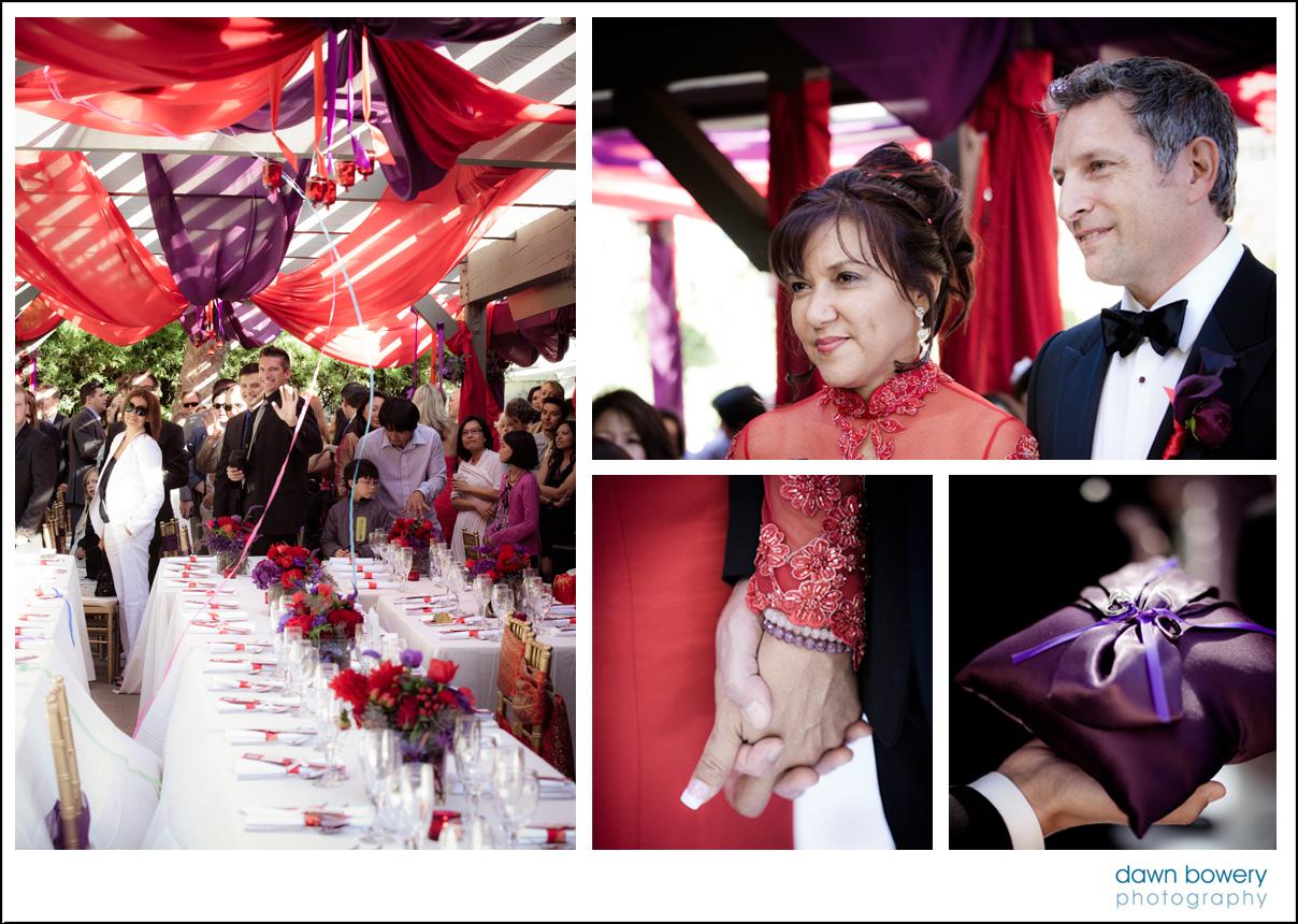bel air wedding photographer aisle