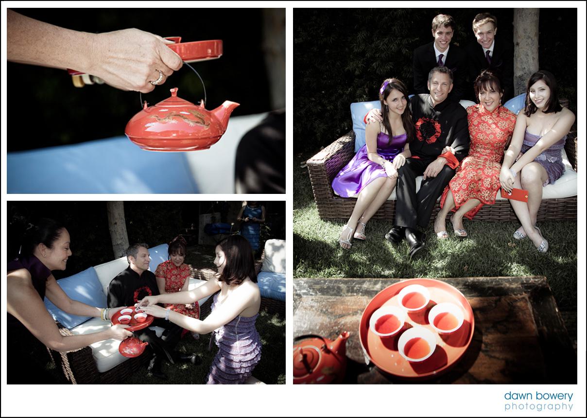 bel air wedding photographer tea ceremony