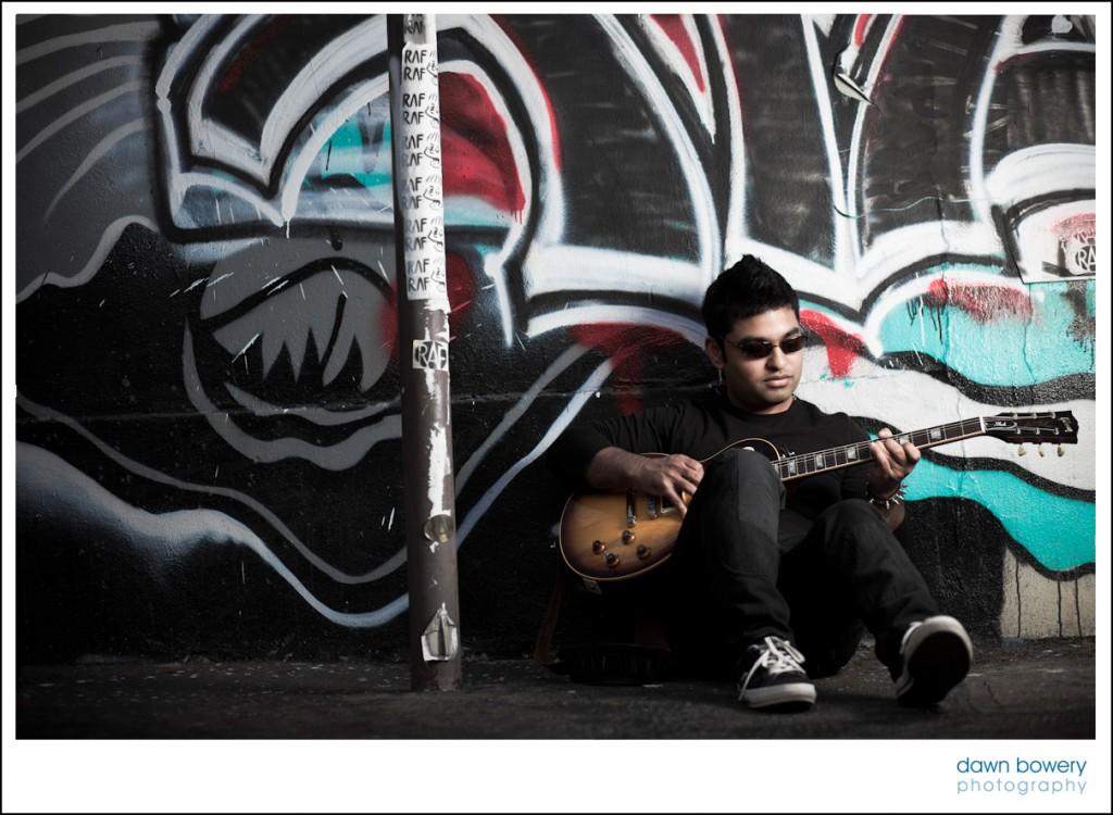 music portrait shoot los angeles guitar