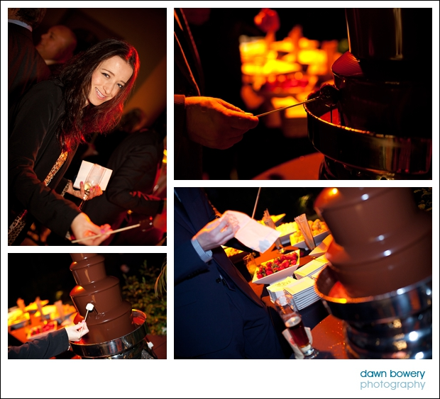 Los Angeles Corporate Event Photography britweek chocolate fountain