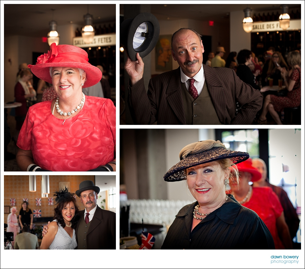 West Hollywood Event Photography queens jubilee guests
