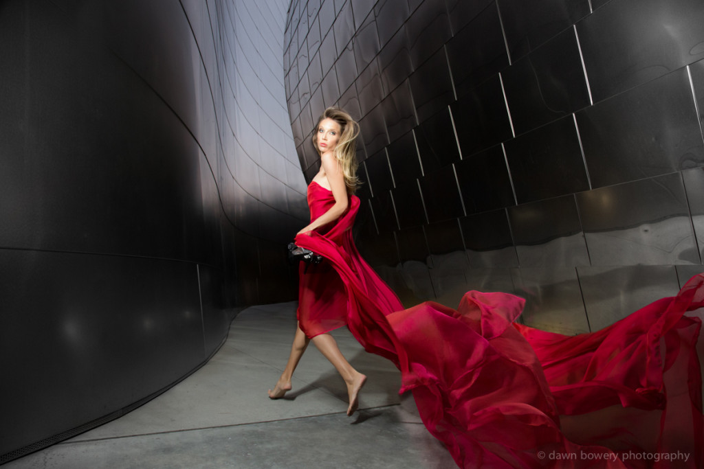 los angeles creative portrait photographer walt disney concert hall summer watson