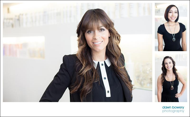 Los Angeles Editorial Photographer Hair salon salon nuuvo raychel harrison owner