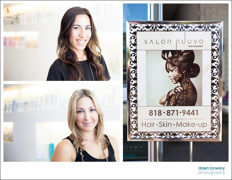 Los Angeles Editorial Photographer Hair salon salon nuuvo staff