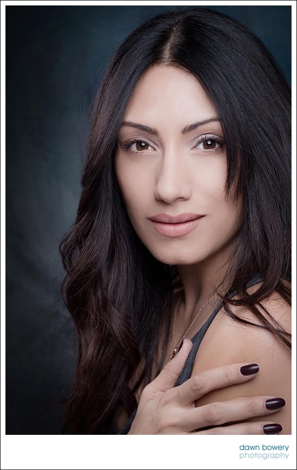 LA studio portrait photography