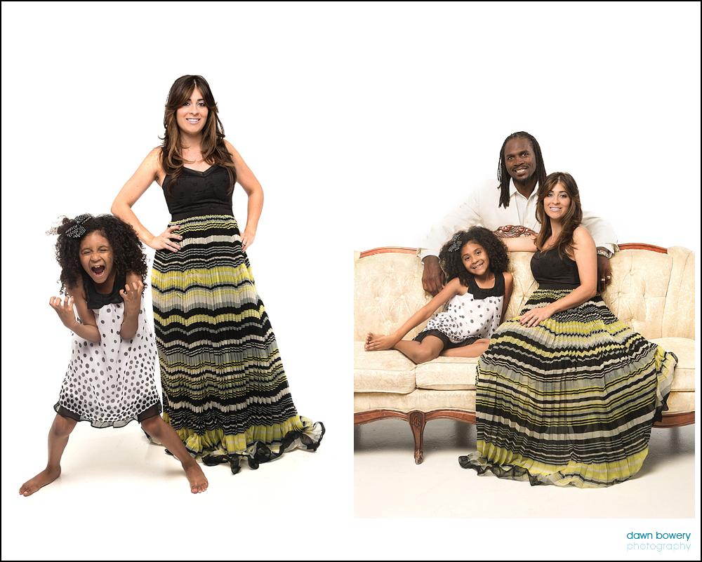 LA family portrait photography