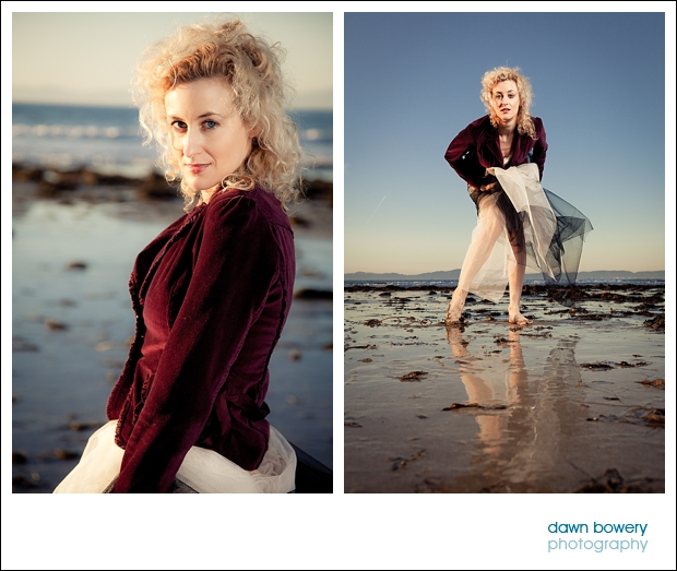 Los Angeles Creative Portrait Photographer malaga beach