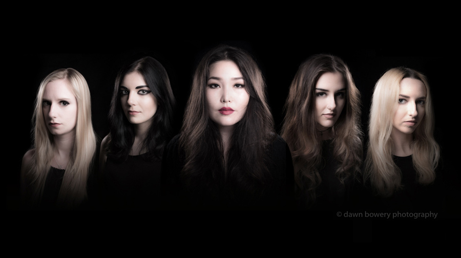 los angeles girl band portrait photographer